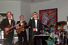 Jazz Quartet with Bass, Jazz Guitarist, Drums, and Vocalist