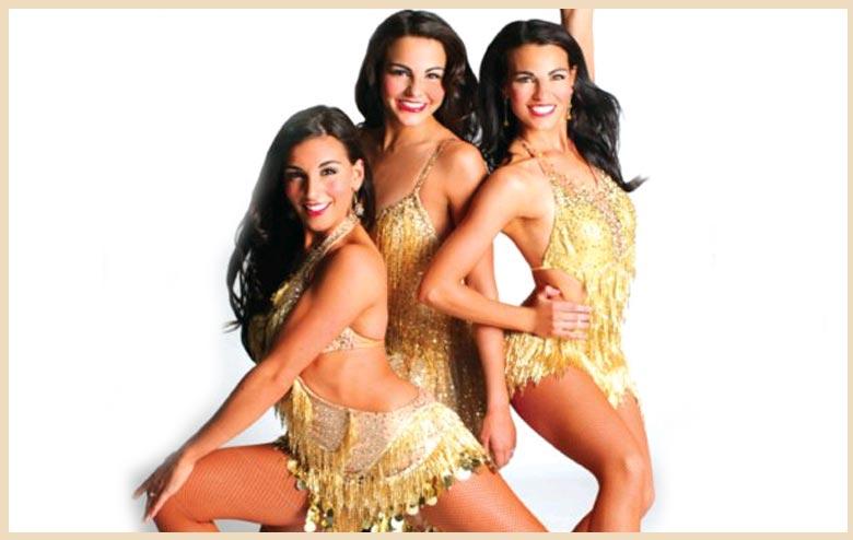 Beautiful Dancing Sisters