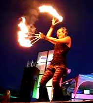 Amazing Fire Performers