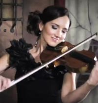 Best Selling Violinist Jenny - Dressed in Black