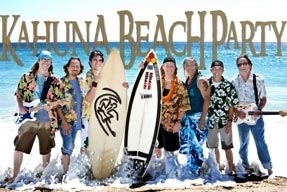 Kahuna Beach Party - Fabulous Beach Boys and Surf Music Tribute