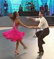 Afton and Maksim of DWTS - Dancing in Las Vegas