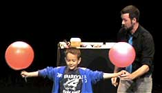 Interactive Comedy, Juggling, and Stunt Show