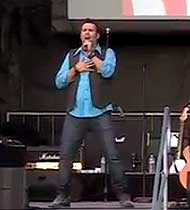 Nathan Osmond Singing Hand Over Your Heart