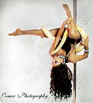 Dancing Upside Down on the Pole