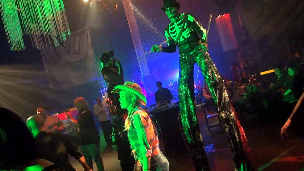 Stilt Dancers and Walkers at a Corporate Event