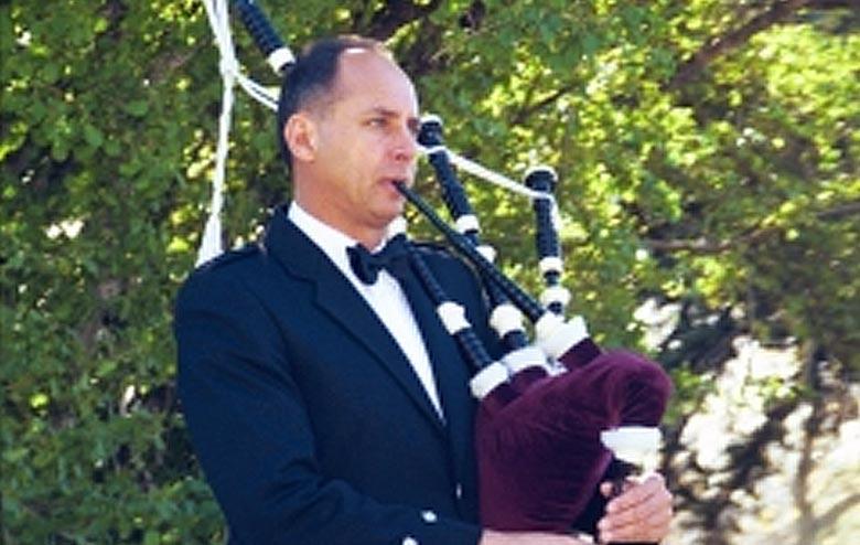 Arvey McFarland - Utah Bagpiper