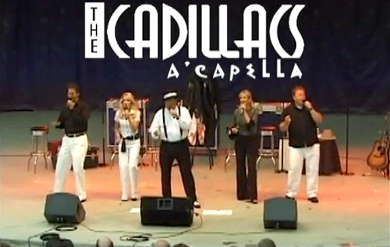 Cadillacs A Cappella and their Oldies But Goodies Show