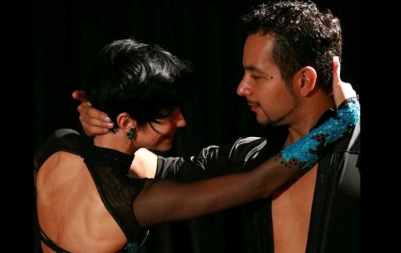 Eric Luna and Georgia Ambarian - Featured on All of the TV Dance Shows