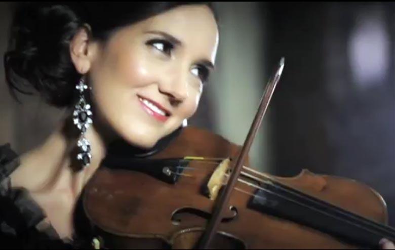 Jenny Oaks Baker - Acclaimed Concert Violinist