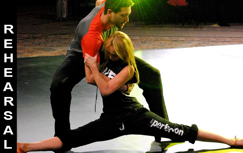 Dmitry and Kym of Dancing with the Stars - Dancing at the Mandalay Bay