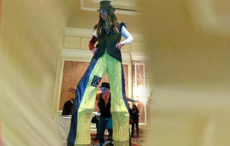 Stilt Walkers and Stilt Dancers