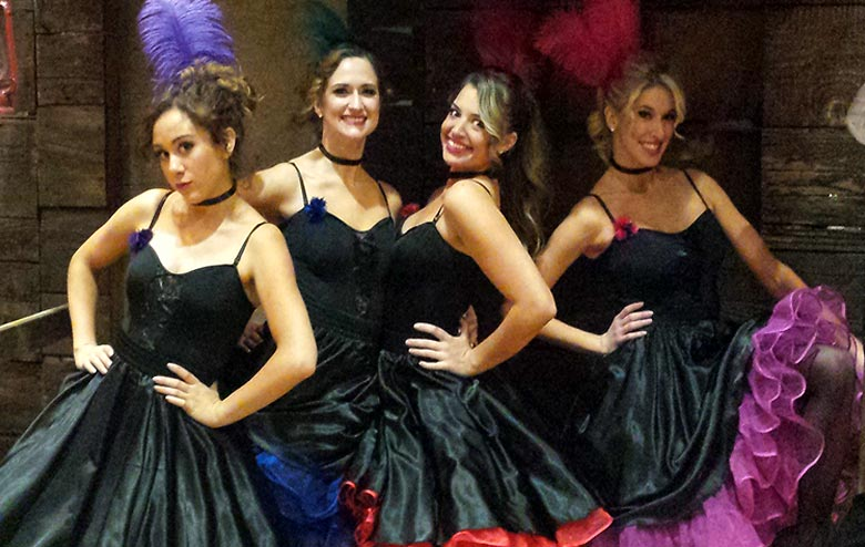 Dance Hall Beauties and Bartender Dancers