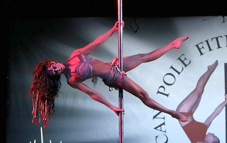 Strength and Grace While Dancing on the Pole