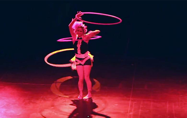 Cirque Shows and Performers
