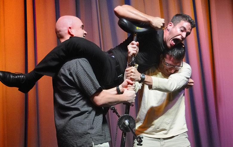Jeff Civillico Team Building, Corporate Comedy, Stunts and Juggling