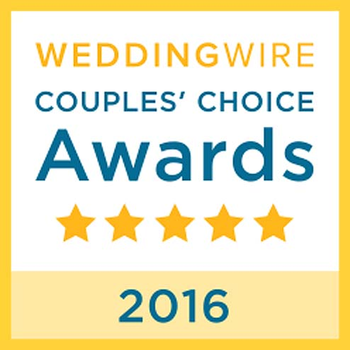 Wedding Wire Couples Choice Award 2016