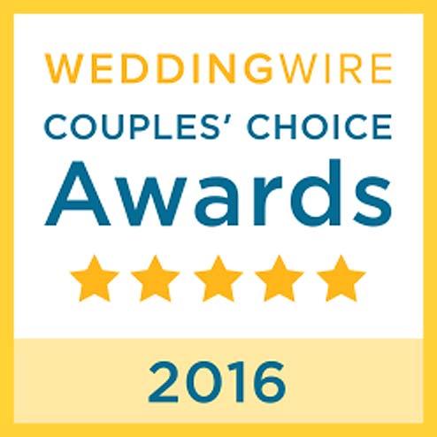 Wedding Wire Couples Choice Award 2016