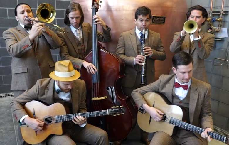 Hot House West Gypsy Jazz Swing Music