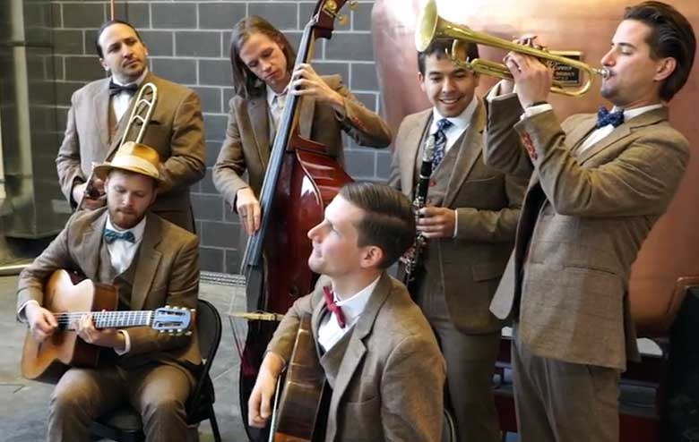 Hot House West Gypsy Jazz Wedding Music