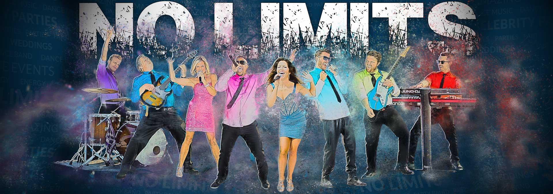 No Limits Band Composite Image