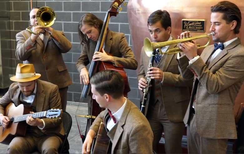 Hot House West Wedding Swing and Jazz Music