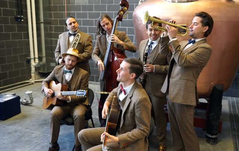 Gypsy Jazz and Swing Music from Hot House West