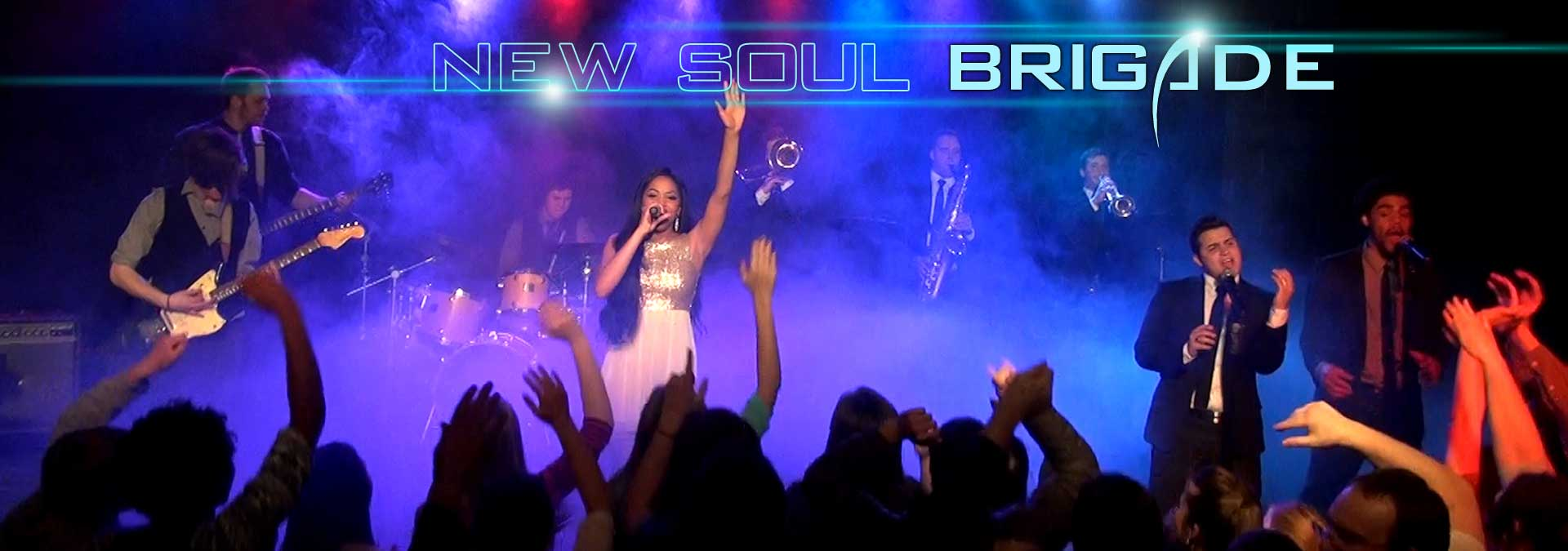 New Soul Brigade Band Home Slider Image