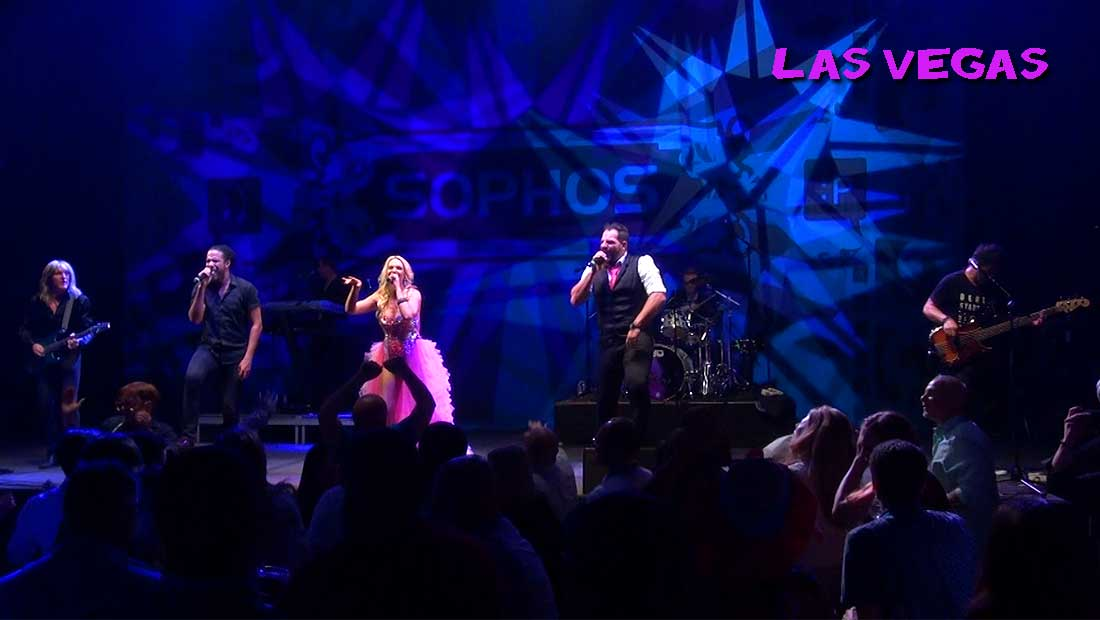 Party Crashers Performing for a Sophos Corporate Event in Las Vegas