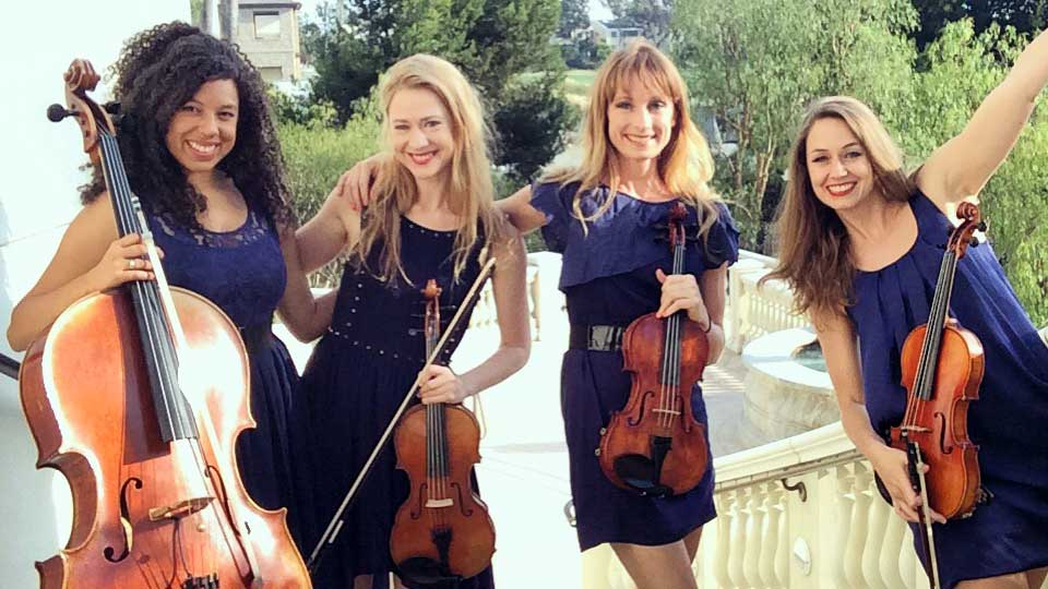 Emerald Electric Strings - Corporate and Wedding Music Quartet