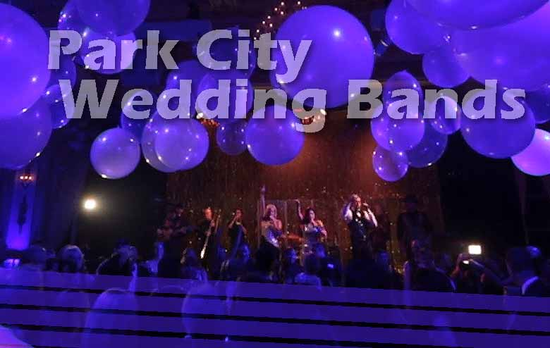 Wedding Music Bands for Park City Weddings