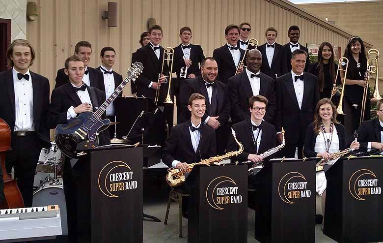 Crescent Super Band - Pop and Jazz Music