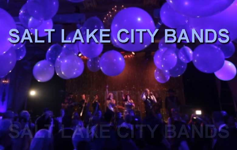 Wedding, Party, and Dance Bands for Salt Lake City
