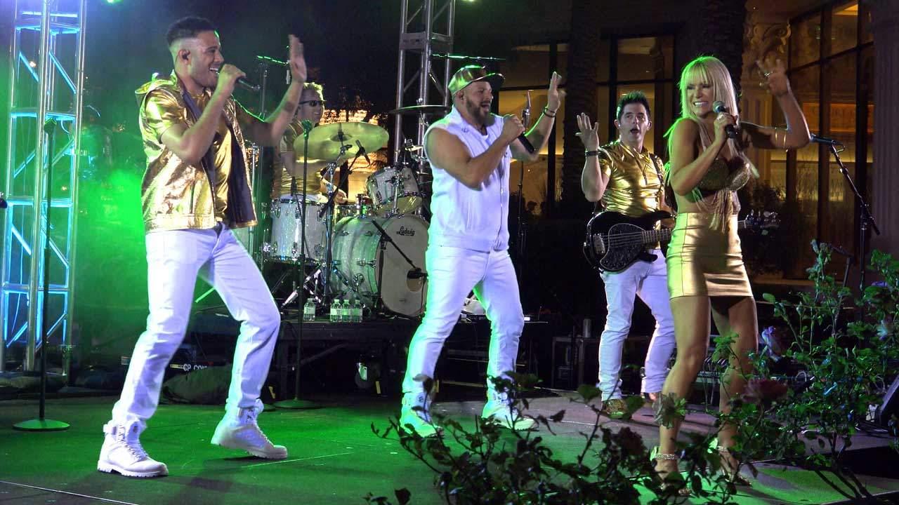 Corporate Band Performing in Las Vegas