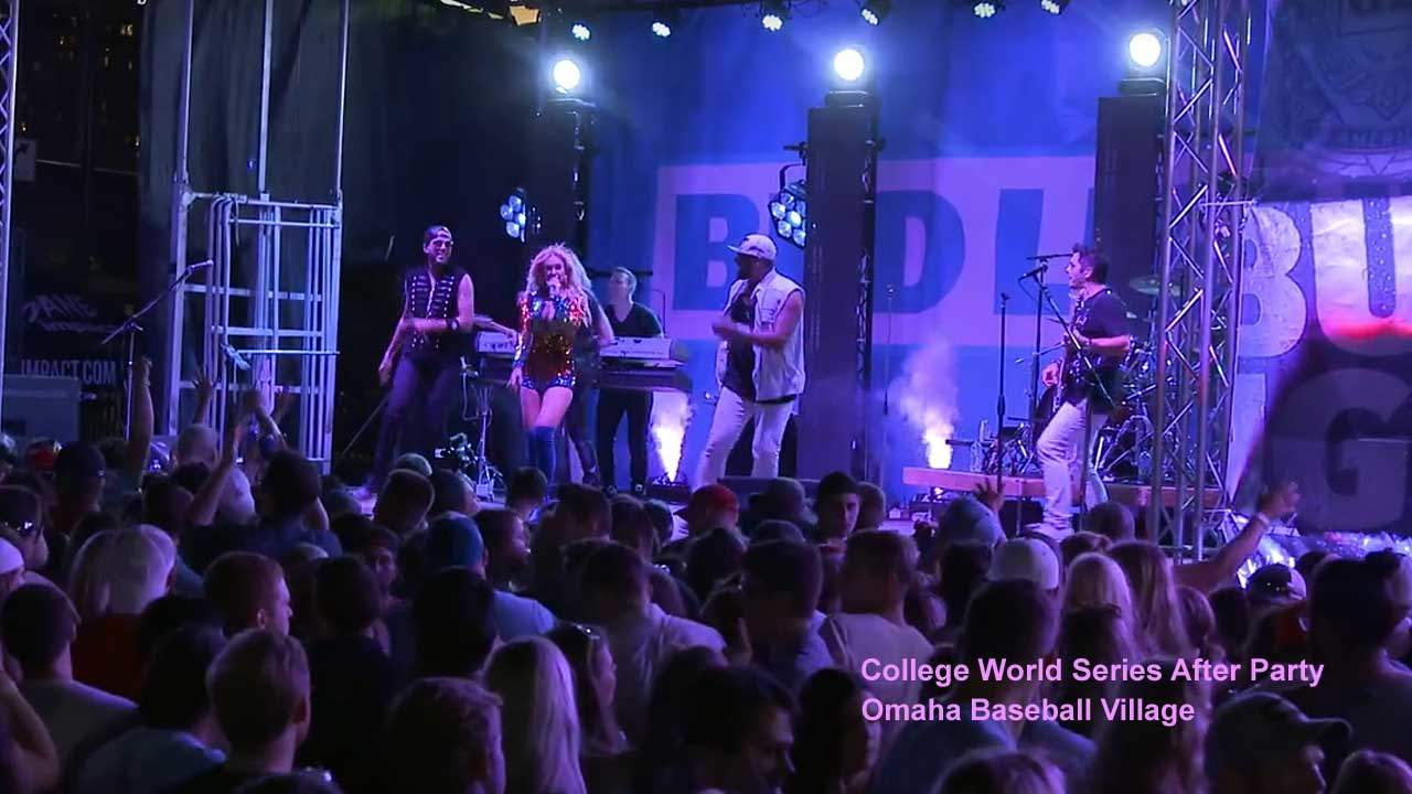Performing for the College World Series After Party in Omaha Nebraska