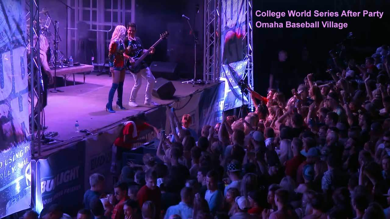 Party Crashers Performing in Omaha for College Baseball World Series Party