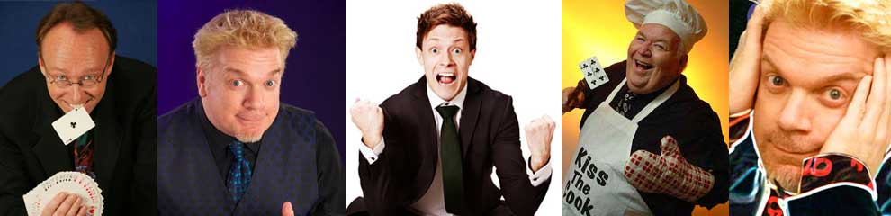 Comedy Magicians for Corporate Events and Parties