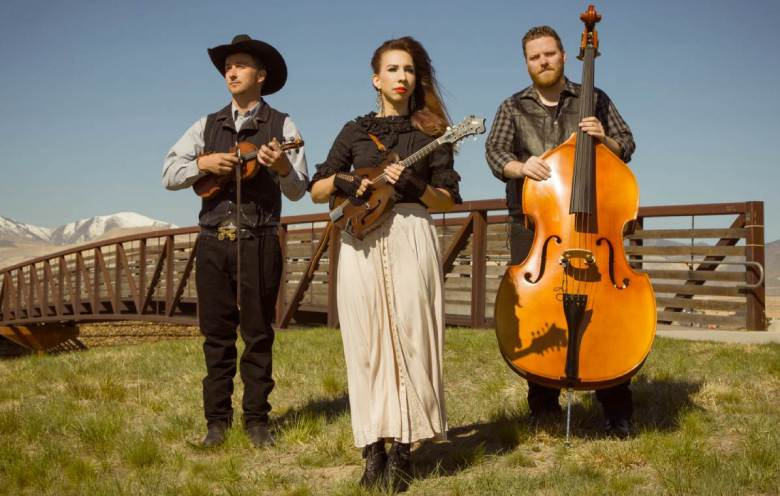 lonesome folk trio bluegrass performers