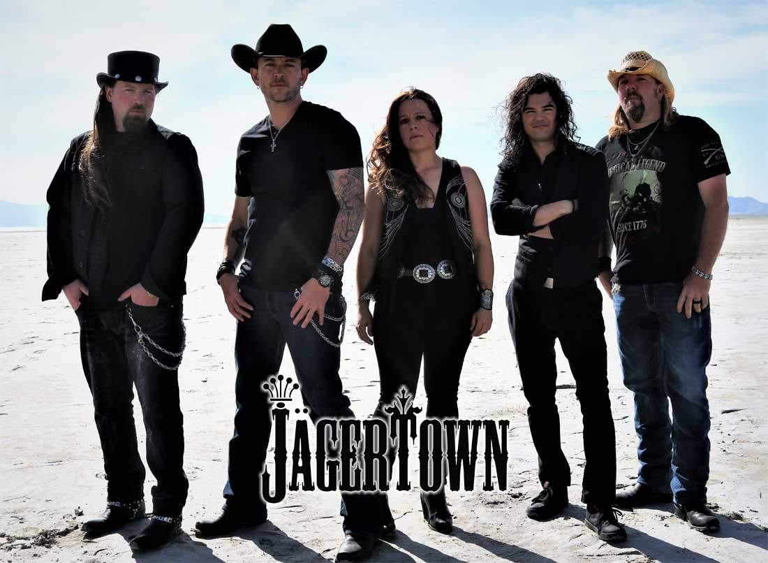 Country Music Dance Band Photo with Logo