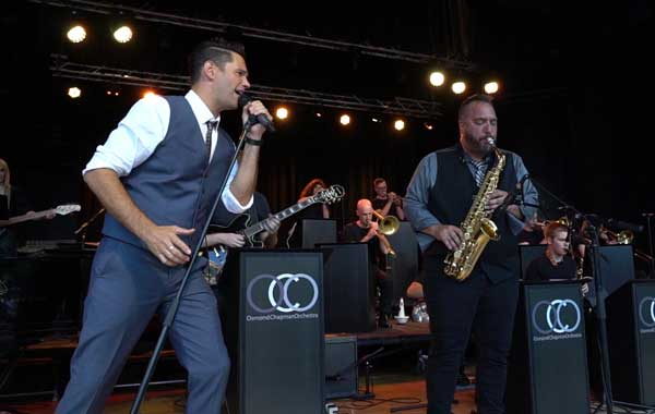 Osmond Chapman Orchestra Swing and Pop Music