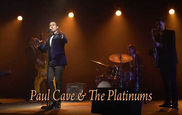 Paul Cave and The Platinums Wedding Jazz and Swing Band