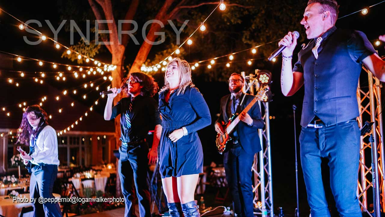 Synergy Party Band and Live Wedding Band